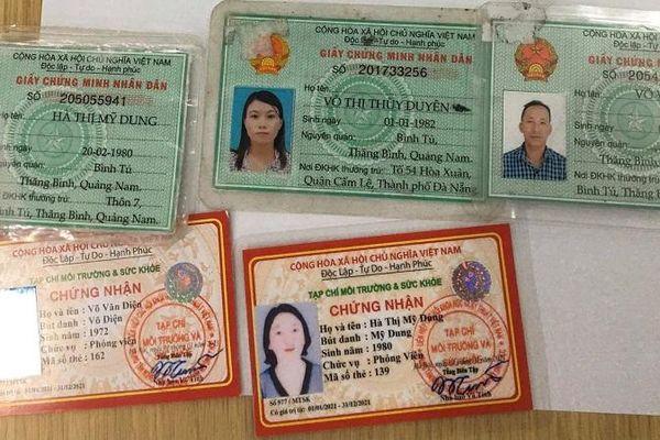 Quảng Ngãi: Làm rõ nhóm người xưng 'phóng viên' xin tiền doanh nghiệp để làm tất niên