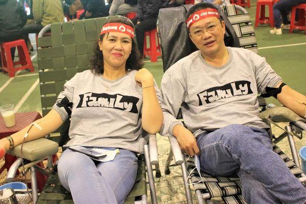 Tây Nguyên: Nhiều cặp đôi hiến máu