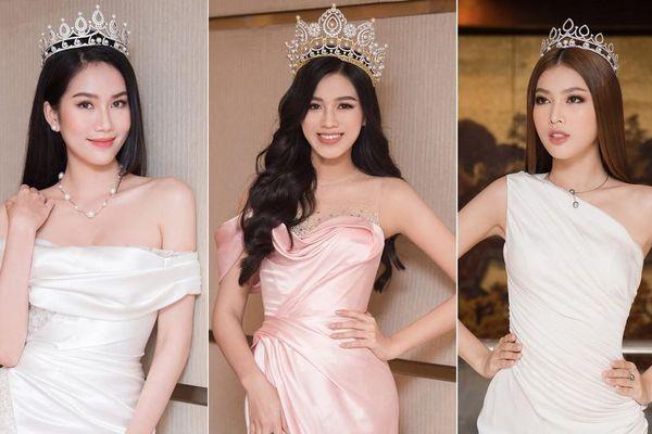 Top 3 Hoa hậu Việt Nam 2020 khoe vai trần quyến rũ 'gây thương nhớ'