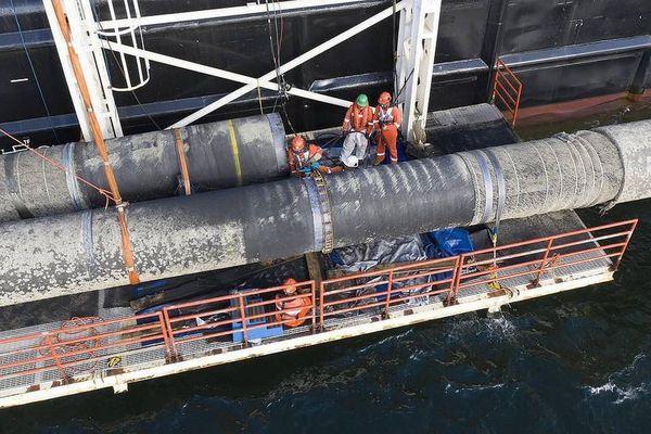 Tàu Fortuna của Nga tiếp tục xây dựng 'Dòng chảy phương Bắc 2'