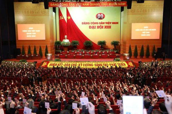 Sáng nay Đại hội Đảng lần thứ XIII họp phiên trù bị
