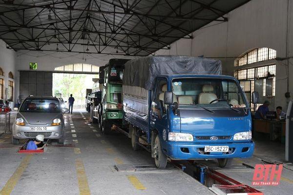 Trung tâm Đăng kiểm xe cơ giới Thanh Hóa thực hiện có hiệu quả công tác kiểm định