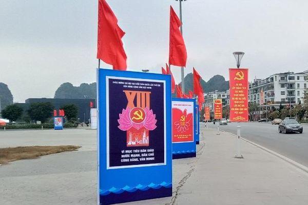 Triển lãm tranh cổ động chào mừng Đại hội đại biểu toàn quốc lần thứ XIII của Đảng
