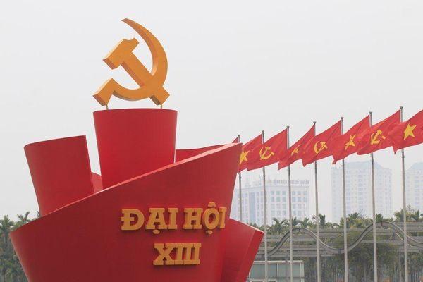 1.587 đại biểu về dự Đại hội XIII của Đảng