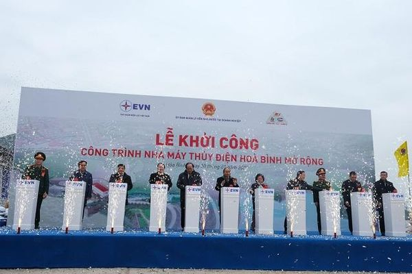 Vietcombank cấp khoản tín dụng 4.000 tỷ đồng tài trợ xây dựng công trình nhà máy thủy điện Hòa Bình mở rộng của Tập đoàn Điện lực Việt Nam