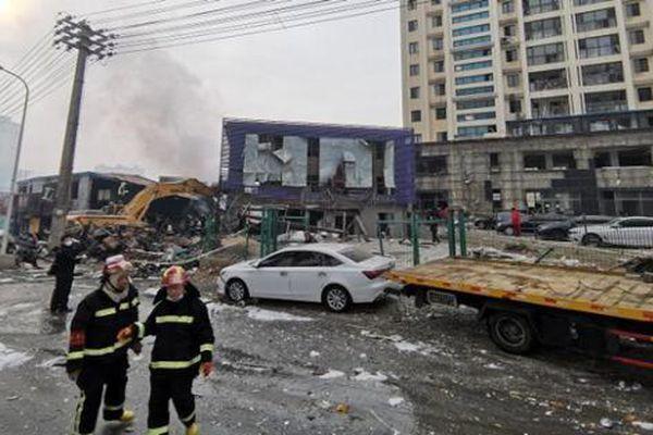Nổ đường ống dẫn khí đốt kinh hoàng tại Trung Quốc