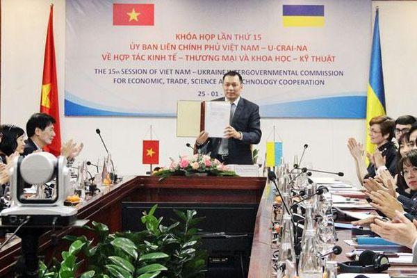 Ukraine mong muốn đẩy nhanh ký hiệp định thương mại tự do với Việt Nam