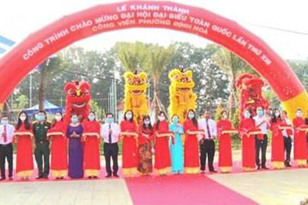 Bình Dương: Nhiều công trình chào mừng Đại hội XIII của Đảng