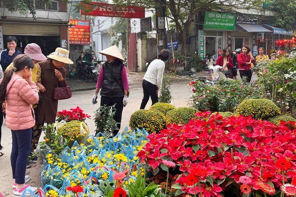 Nhộn nhịp chợ hoa Vạn Phúc (Hà Đông)