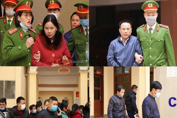 38 năm tù cho các đối tượng chiếm đoạt tiền hoàn thuế ở Hà Tĩnh