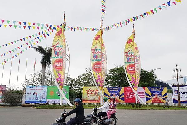 Hơn 200 doanh nghiệp tham gia Hội chợ Xuân Đà Nẵng năm 2021