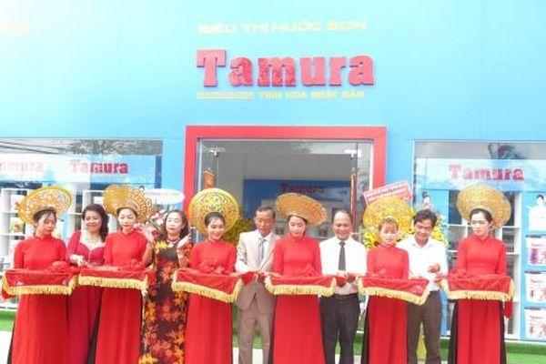 Tập đoàn Tamura khai trương thêm Siêu thị nước sơn ở Mỹ Xuyên