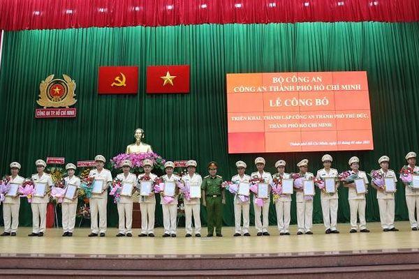 Đồng chí Quách Thanh Giang giữ chức Viện trưởng Viện Kiểm sát nhân dân TP Thủ Đức