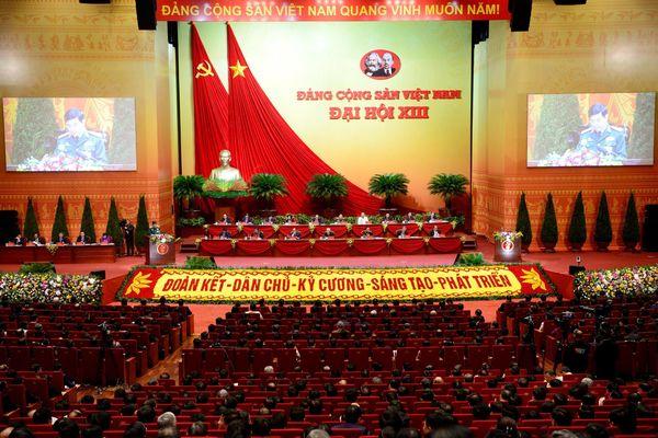 Thông cáo báo chí ngày làm việc thứ hai Đại hội XIII của Đảng