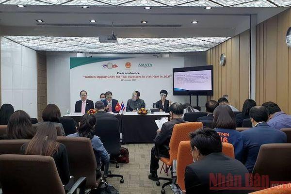 Quảng bá cơ hội đầu tư tại Việt Nam tới các doanh nghiệp Thái Lan