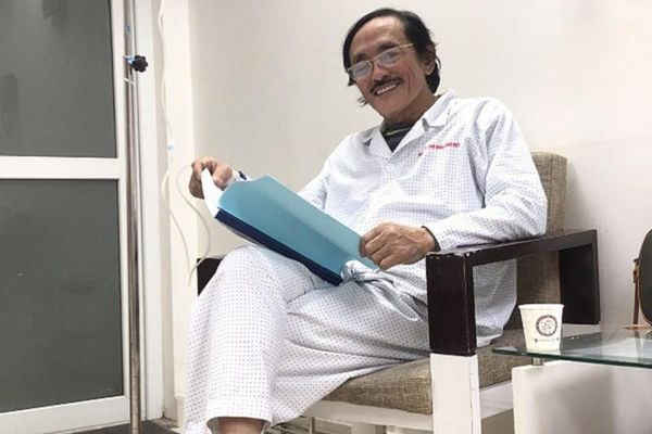 Nghệ sĩ Giang còi ung thư hạ họng, chỉ sống được 2 năm nữa?