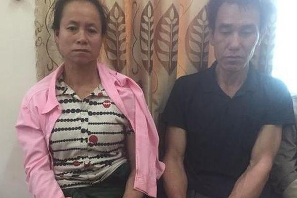Chồng cầm dao đuổi chém công an 'giải cứu' vợ