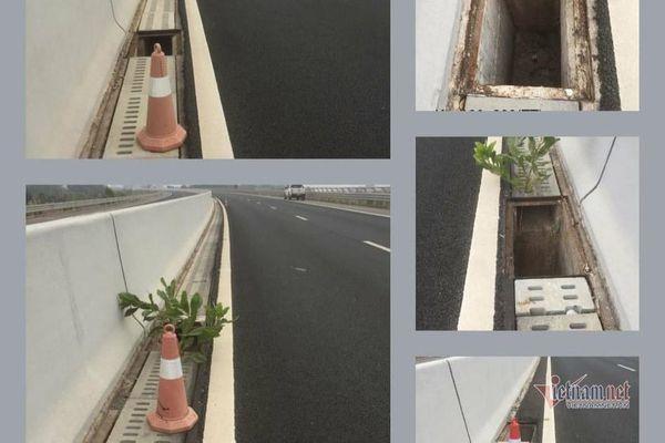 Trộm nắp cống thoát nước trên cao tốc Bắc Giang - Lạng Sơn