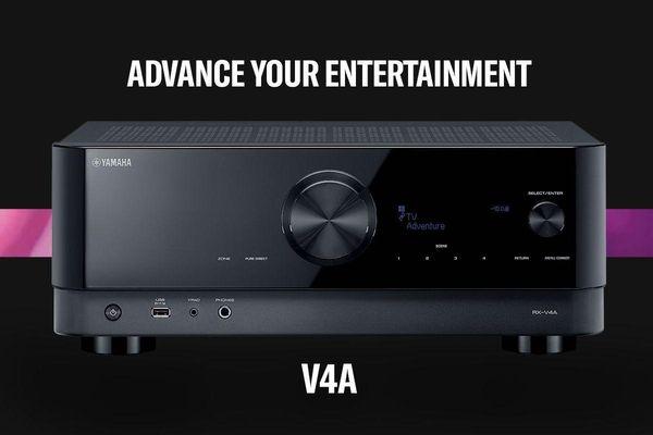 Yamaha RX-V4A, receiver xem phim 8K hiện đại, đa tính năng với mức giá phải chăng