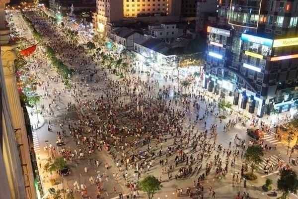 Cấm xe nhiều đường trung tâm Thành phố Hồ Chí Minh trong dịp Tết
