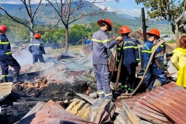 Vụ cháy lớn ở Lâm Đồng: 180 triệu đồng bị cháy có đổi được không?