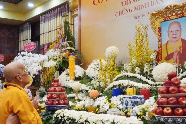 Tưởng niệm Hòa thượng Thích Thiện Từ tại chùa Minh Đạo