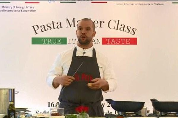 Thúc đẩy giao thương Ý- Việt qua hành trình khám phá Pasta chuẩn Ý