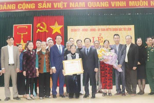Truy tặng danh hiệu vinh dự Nhà nước 'Bà mẹ Việt Nam Anh hùng' cho mẹ Vương Thị Hồ