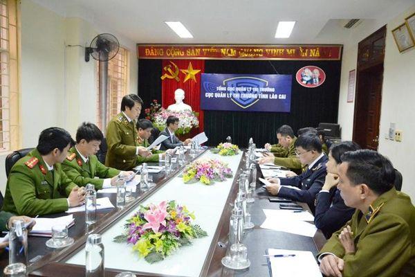 Kiểm tra phòng, chống buôn lậu và gian lận thương mại dịp Tết ở tỉnh Lào Cai
