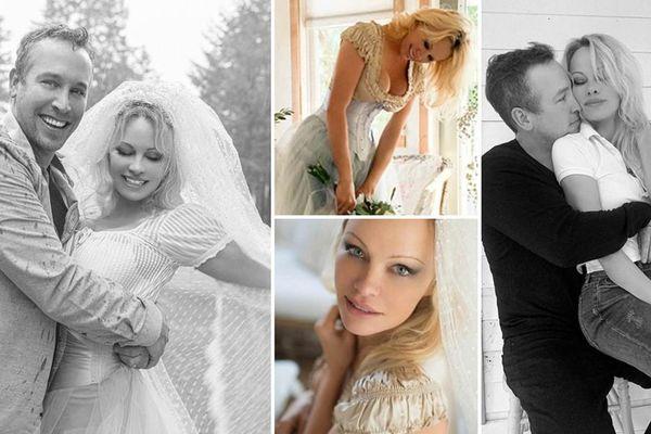 'Cô đào' gợi cảm Pamela Anderson kết hôn lần 5 ở tuổi 54