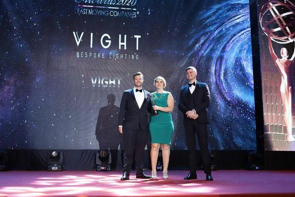 Vight Limited - Công ty đèn chiếu sáng duy nhất được vinh danh cho giải thưởng SME100 Châu