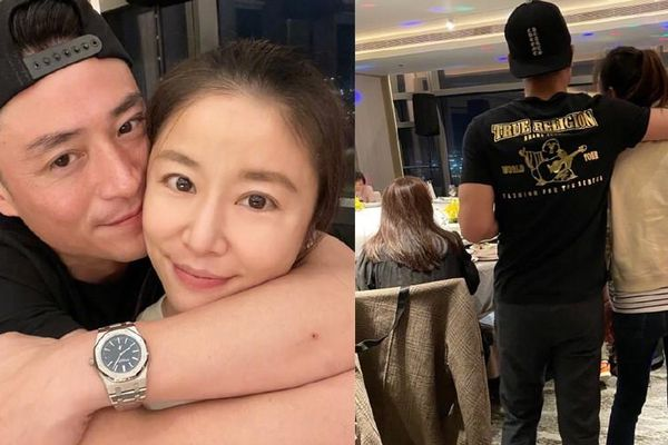 Ông xã ôm hôn tình tứ Lâm Tâm Như trong sinh nhật 45 tuổi