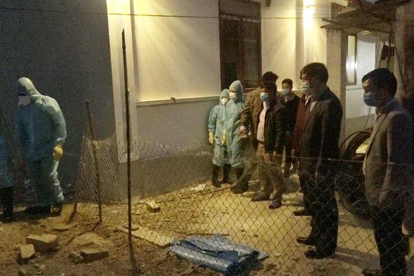 Hải Hà: Xử lý ổ dịch cúm A/H5N6 tại xã Quảng Chính