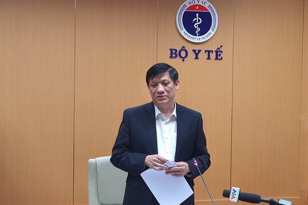 Bộ trưởng Y tế: 'Dồn tổng lực giúp Hải Dương sớm dập tắt dịch trên địa bàn'