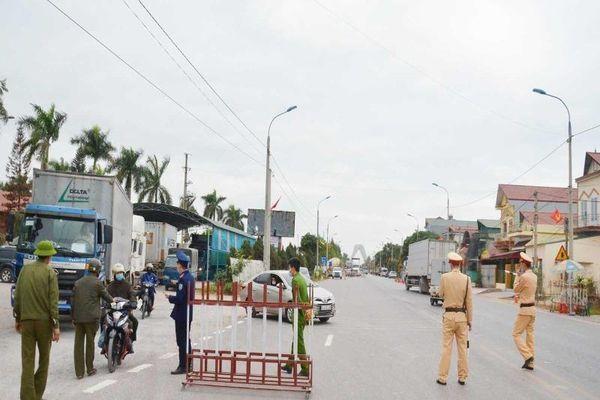 12h trưa nay phong tỏa xã Bình Dương của tỉnh Quảng Ninh
