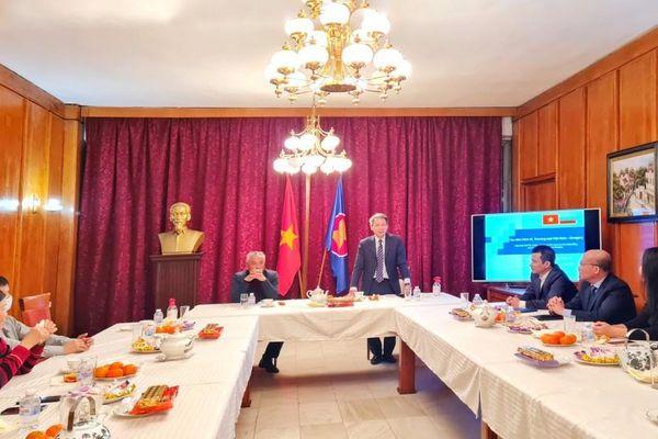 Thúc đẩy quan hệ hợp tác thương mại, đầu tư giữa Việt Nam-Bulgaria