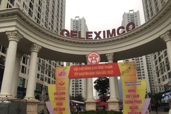Dừng hội chợ Tết 'khủng' tại khu chung cư vạn dân ở Hà Nội