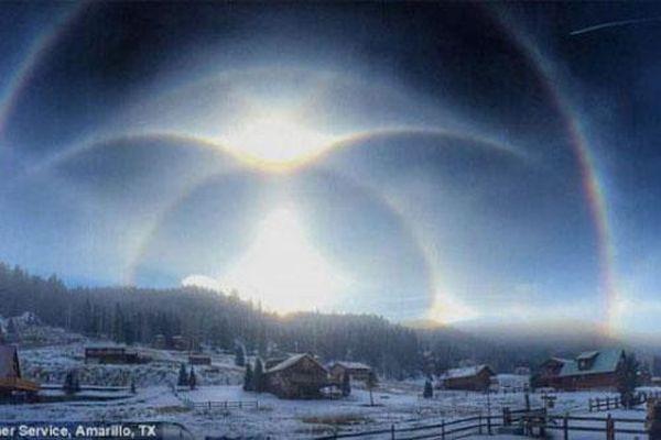 Những hiện tượng bí ẩn kỳ thú xuất hiện trên bầu trời