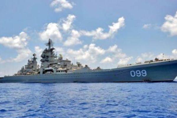 Tàu tuần dương Đô đốc Nakhimov Nga sẽ nhận được tới 480 tên lửa