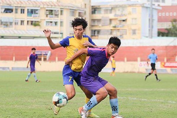 U19 Khánh Hòa và U19 Sài Gòn chia điểm