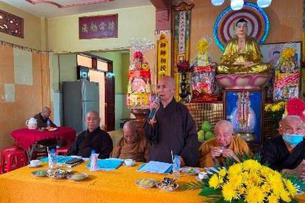 Phật giáo huyện Bình Chánh làm từ thiện hơn 64 tỷ đồng