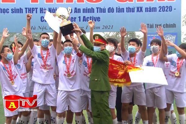 Giải bóng đá học sinh THPT Hà Nội 2020 thành công trên nhiều phương diện