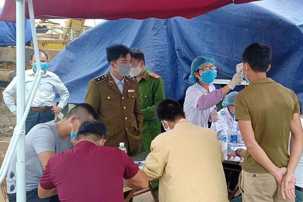 Phát hiện thêm 11 ca F1 tại năm huyện, Thái Bình siết chặt việc chống dịch