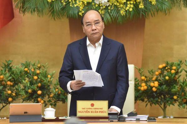 Chính phủ họp phiên thường kỳ tháng 1