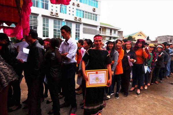 Chủ nhật Đỏ Tây Nguyên: Hàng nghìn người dân sẵn sàng hiến máu