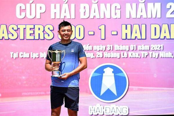 Giải VTF Masters 500 - 1 - Hai Dang Cup 2021: Lý Hoàng Nam đoạt cú đúp vô địch