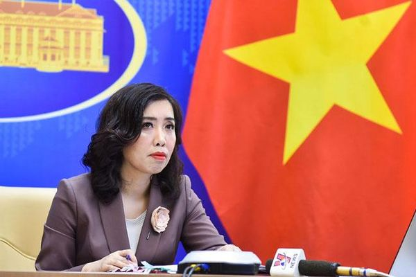 Việt Nam hoan nghênh lập trường của các nước về vấn đề Biển Đông phù hợp với luật pháp quốc tế