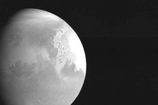 Tàu thăm dò Tianwen1 chụp ảnh sao Hỏa