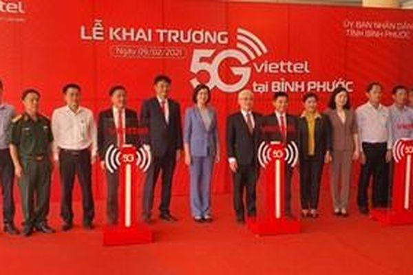 Thành phố thứ 5 phủ sóng mạng 5G Viettel