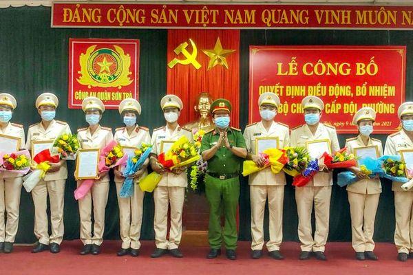 CAQ Sơn Trà: Điều động, bổ nhiệm chỉ huy cấp đội, phường